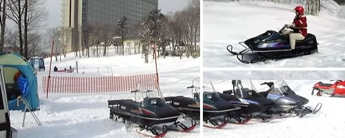 snowmobile
